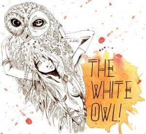 white owl post
